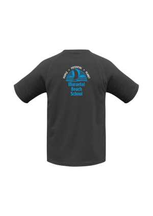 Maraetai Beach School Tee Black
